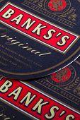 Beermats from Banks beer