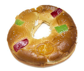 pic of epiphany  - A Typical spanish seasonal pastry  - JPG