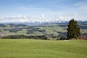 An image of the German Alps in Bavaria