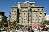 Постер, плакат: Отель расположен в Сан Франциско Союза площади
