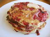 Pancake Stack Raspberry