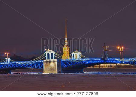 Saint Petersburg Winter Palace Bridge