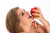 Eating A Mango