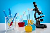 picture of scientific research  - Equipment of a research laboratory - JPG