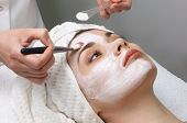 foto of face mask  - beauty salon series - JPG