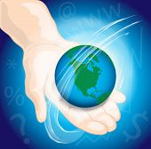 World_hands poster