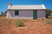 First House Now Abandoned Of Australian Indigenous Artist Albert Namatjira In Macdonnell Ranges Nort poster