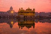Sunset At Golden Temple.
