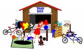 picture of yard sale  - Big yard - JPG