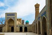 picture of poi  - Poi Kalon Mosque Complex in Bukhara Republic of Uzbekistan - JPG