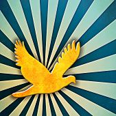 Sunburst Peace Dove