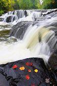 Bond Falls In Northern Michigan