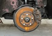 Rusty Car Brake