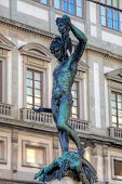 stock photo of beheaded  - Statue of Perseus slaying Medusa  - JPG