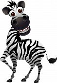 funny zebra cartoon