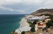 Mediterranean Coast in Andalusia Spain
