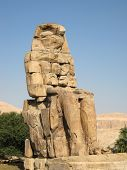 Colossus of Memnon at the Valley of Kings