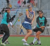 Girls High School Varsity Lacrosse 03