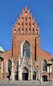 Holy Trinity Dominican Church In Krakow, Poland