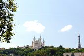 Metal tower, Notre-Dame de Fourvi�re