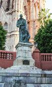 Statue of San Miguel Archangel