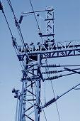 Elektrifizierung Bahnhof Kontakt Net Stahl-Artikel