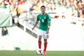 PASADENA, CA - JULY 7: Marco Fabian #10 of Mexico during the 2013 CONCACAF Gold Cup game between Mex