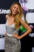 NEW YORK-JULY 9: Actress Blake Lively attends the premiere of