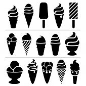 Vector  Ice-cream Icons