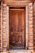 Old weathered door.