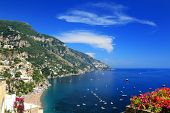 Positano on the Amalfi Coast, Italy, Europe