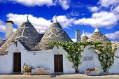 picture of conic  - unique Alberobello  - JPG