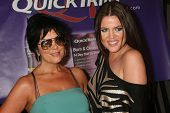 Kris Jenner and Khloe Kardashian at the 5th Annual Miss Malibu Pageant. Private Residence, Malibu, CA. 08-23-09