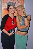 Katherine Carlson and Tonya Kay  at the dual screenings of