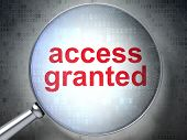 Protection concept: Access Granted with optical glass