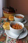 Bean pot and soups  - vertical