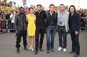 Cast of 'X-Men Origins Wolverine' at the United States Premiere of 'X-Men Origins Wolverine'. Harkin