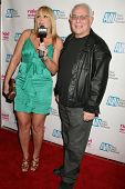Cousin Stevie and Flower Tucci at the Los Angeles Premiere of 'Naked Ambition an R-Rated Look at an