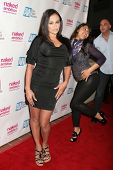 Claudia Valentine at the Los Angeles Premiere of 'Naked Ambition an R-Rated Look at an X-Rated Indus