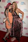 Joanna Angel and Samantha Ryan  at the Los Angeles Premiere of 'Naked Ambition an R-Rated Look at an