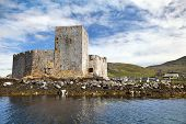 Kisimul Castle, Castlebay, Isle Of Barra, Outer Hebrides, Scotland .