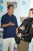 Jon Lovitz and Dana Carvey at the Jon Lovitz Comedy Club Charity Opening, benefitting the Ovarian Ca