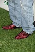 Luke Perry's shoes at Global Green USA's 13th Annual Millennium Awards. Fairmont Miramar Hotel, Santa Monica, CA. 05-30-09