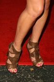 Mary Carey's shoes at the 'Celebrity Pornhab with Dr. Screw' Premiere Party. Les Deux, Hollywood, CA. 06-01-09