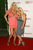 Mary Carey and Crista Moore  at the 'Celebrity Pornhab with Dr. Screw' Premiere Party. Les Deux, Hol