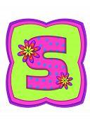 Alphabet Daisy Daze S