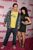 Steve O and Lacey Schwimmer at the Birthday Bash for Perez Hilton. Viper Room, Hollywood, CA. 03-28-09