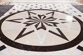 Star Marble Pavement