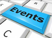 Events Www Indicates World Wide Web And Happening