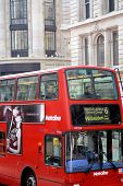 Close up London Double Decker